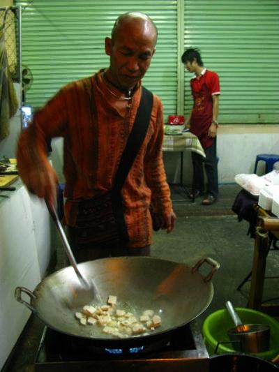 Тик, главный по пад-таю в Чианг-Мае