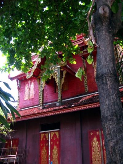 Деревянный храм. Чианг Май