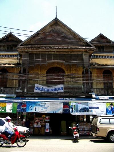 Когда-то в Чианг-Мае были дома, украшенные деревянной резьбой и керамикой