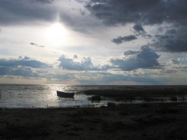 на острове Талабск