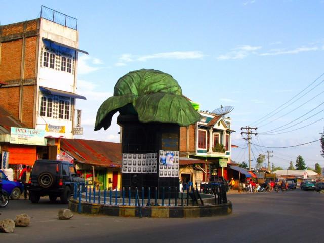 Памятник капусте в Берастаги