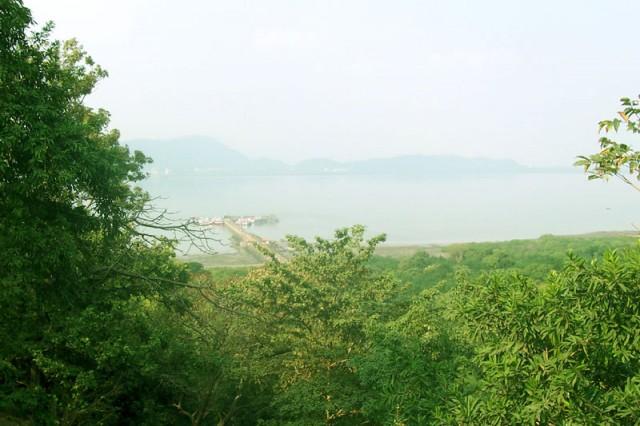 Вид на пристань к о.Элефанта