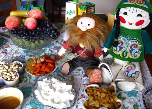 Теплый прием в Казахстане (с казахской подругой)