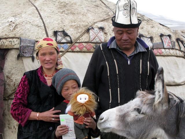 Среди памирских кыргызов