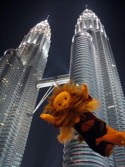 Вокруг башен в Куала-Лумпуре, Малайзия