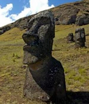 Статуя с о. Пасхи