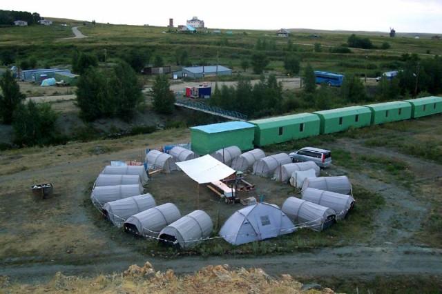 летний палаточный лагерь