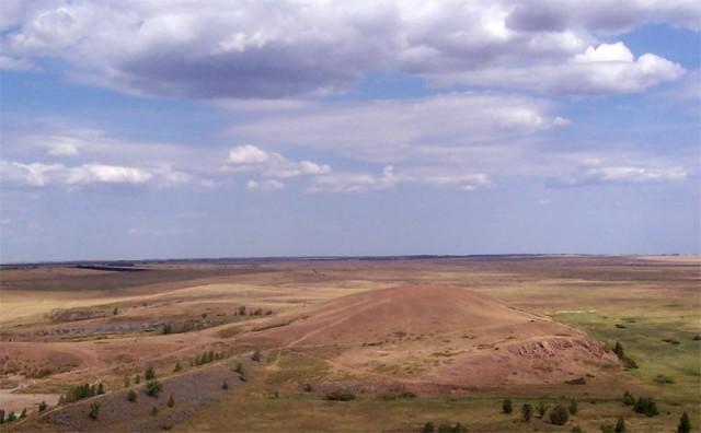 Вид на Шаманку с горы Любви