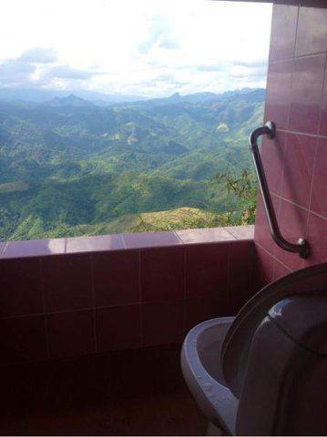 Балкон-туалет с видом ))