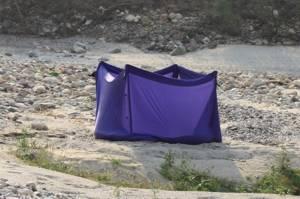 Туалет на пляже Карнали