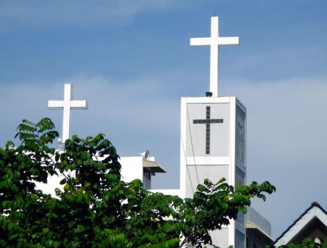 Христианство тоже произрастает в данных широтах
