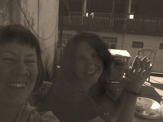 как все начиналось: Анту и Мария, Индия - 2007