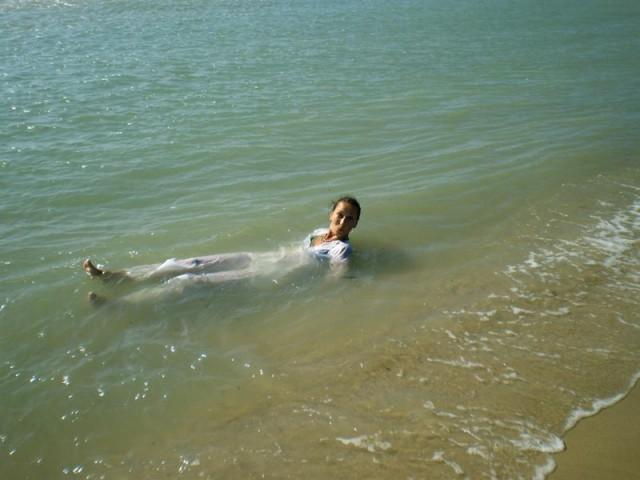 И купались в Индийском океане...