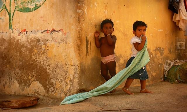 Детки из Каньякумари живут в Питере.