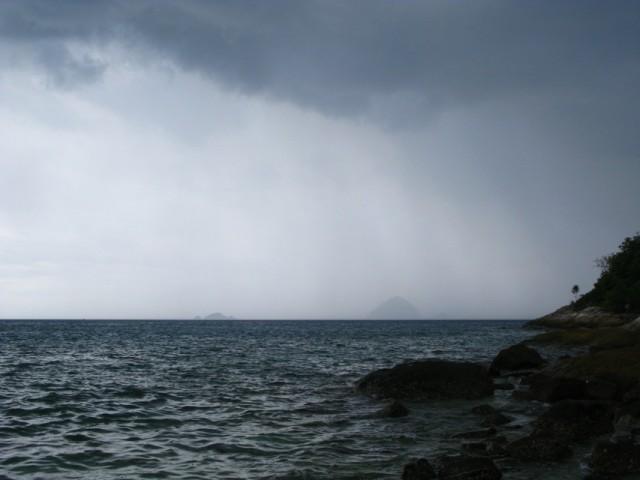 Дождь над Тихим Океаном