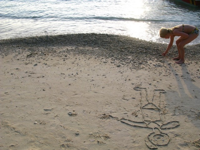 Море и девочка