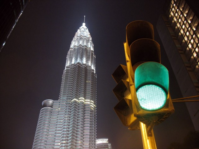 Огни Куала Лумпура