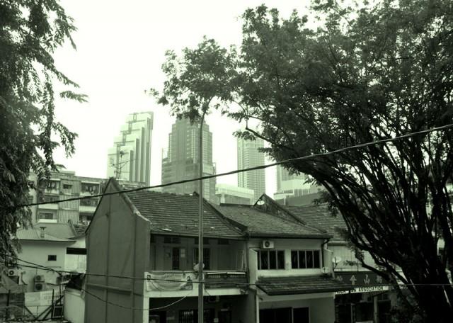 Вид из окна в Куала Лумпуре - это роскошь
