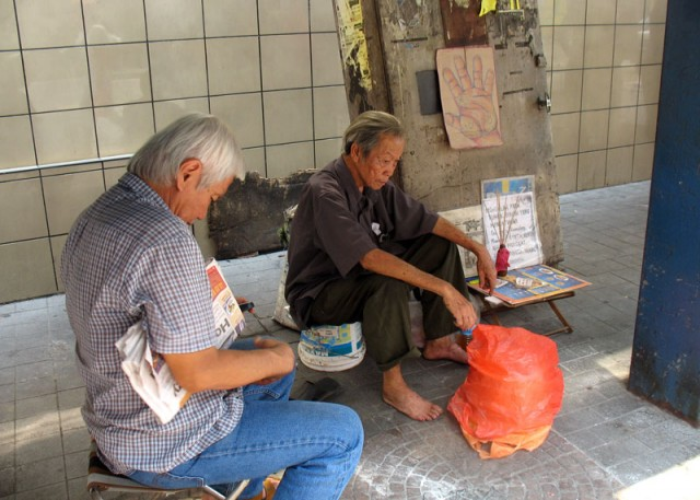 Куала-лумпурский уличный хиромант