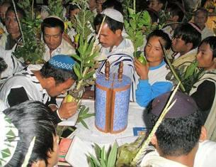 Представители племён мизо и куки в штатах Манипур и Мизорам
