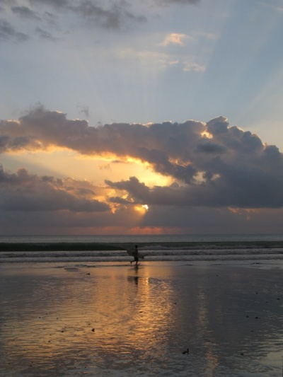 Сансет на Куте, Бали