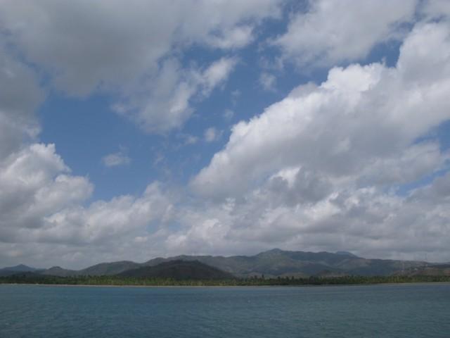 Облака на Ломбоком