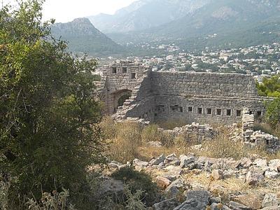 Вид на Сутоморе с развалин крепости