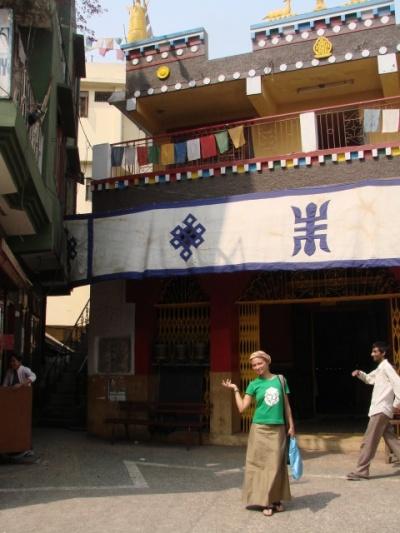 буддистский храм в Маджну Катилле