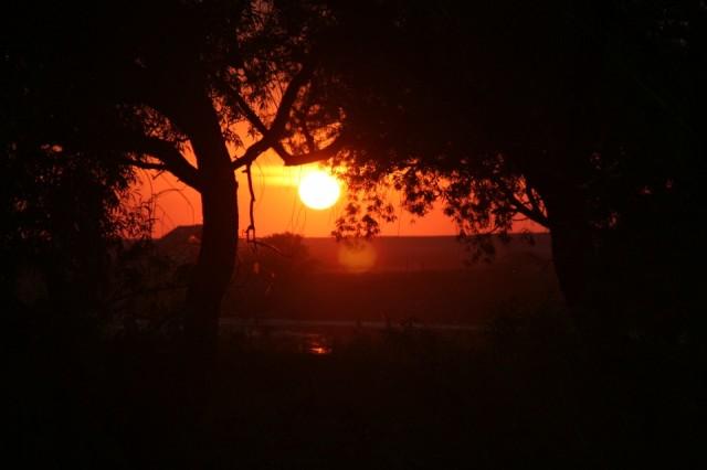 закат (Аркаим)