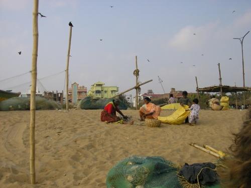 рыбацкий пляж