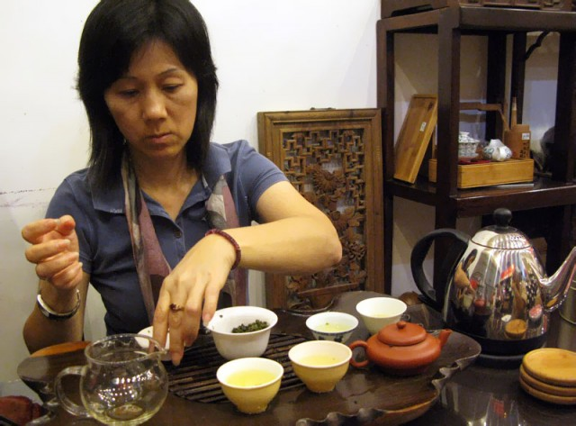 Чайная мастерица