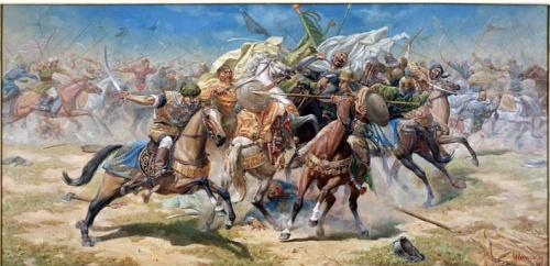 """""""Битва за знамя"""",1996"""