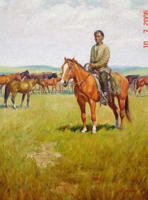"""""""Пастбище"""",1993"""