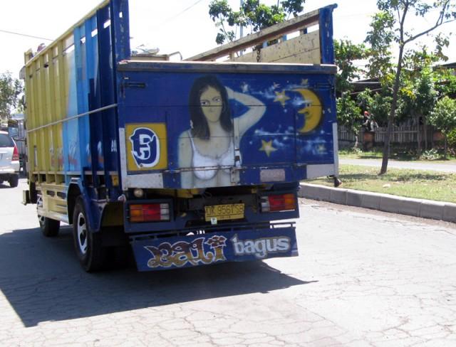 Красота - страшная сила, особенно на балийских дорогах