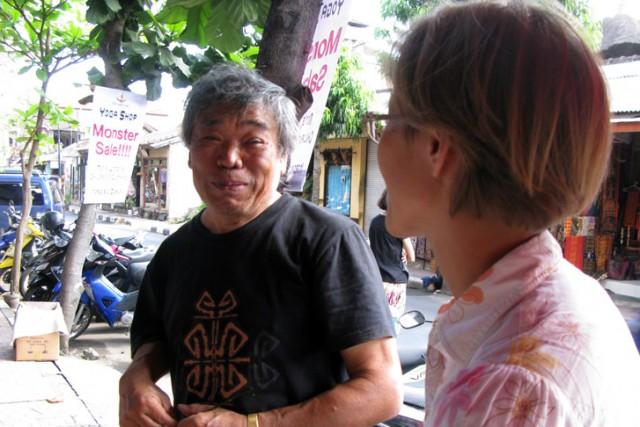 Фуджита Катуджи живет на Бали уже 3 года