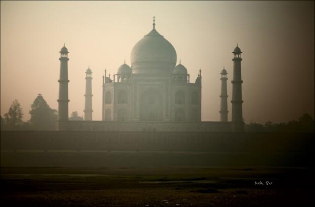 После. Индия / Агра / Тадж-Махал на рассвете.