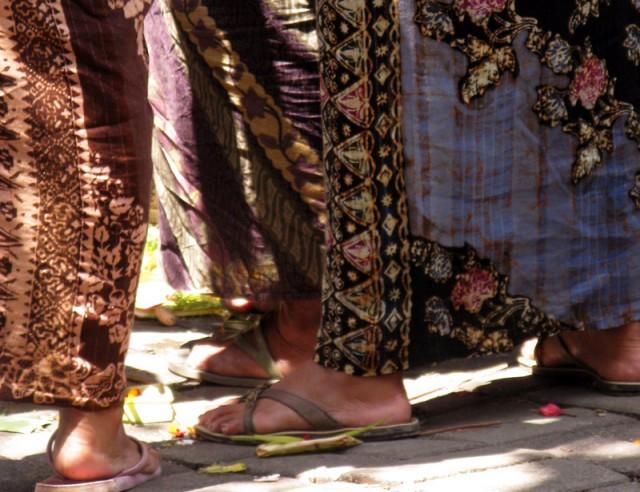 Саронг, Бали