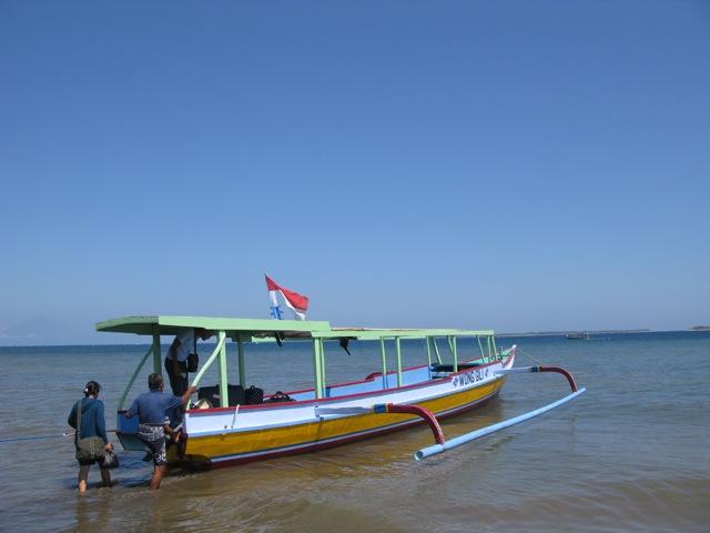 Лодка-водомерка для переправы