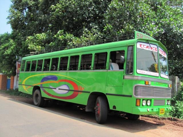 весёлый индийский автобус