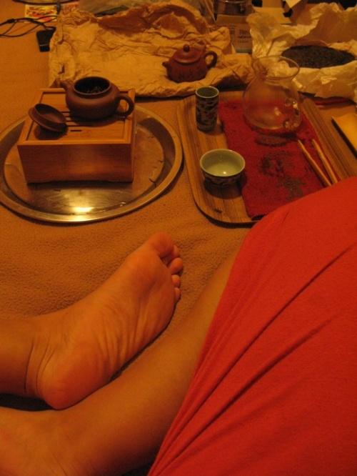 Пьем чай, отдыхаем