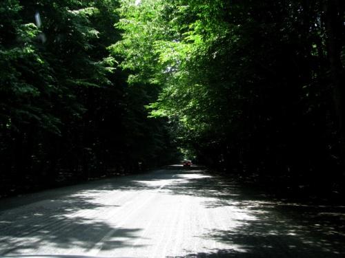 дорога в Шеки