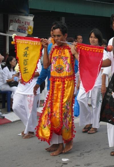 Вегетарианский фестиваль на Пхукете, Таиланд 15