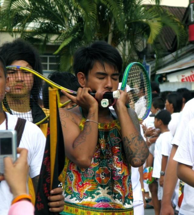 Вегетарианский фестиваль на Пхукете, Таиланд 8