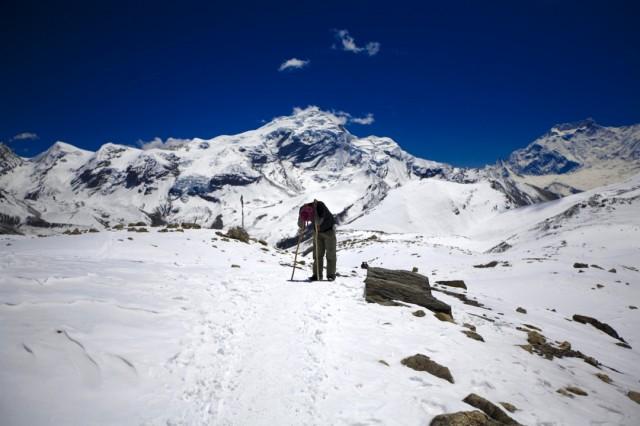 Непал. Трек вокруг Аннапурны. День перевала. Высота более 5000 м. 2009 г.