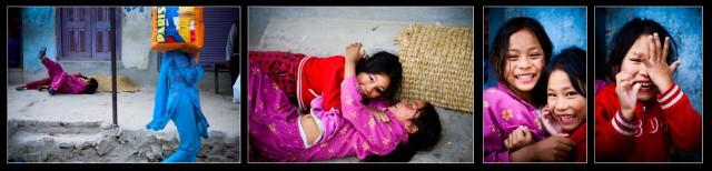 """Непал. Гокарна. """"Детство. Детство. Детство."""". 2009 г."""