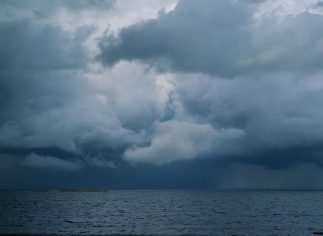 Белое море перед бурей