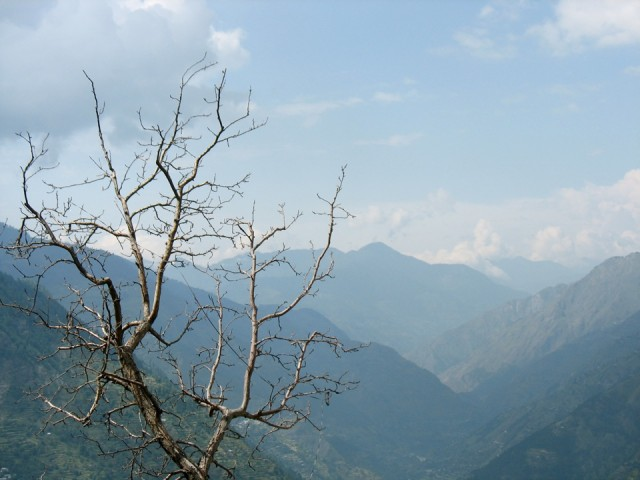 В Гималаи пришла осень