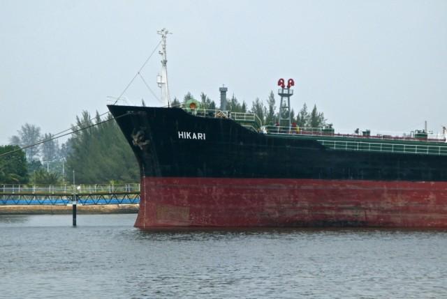 В порту Думаи вдруг встречаем... Hikari!