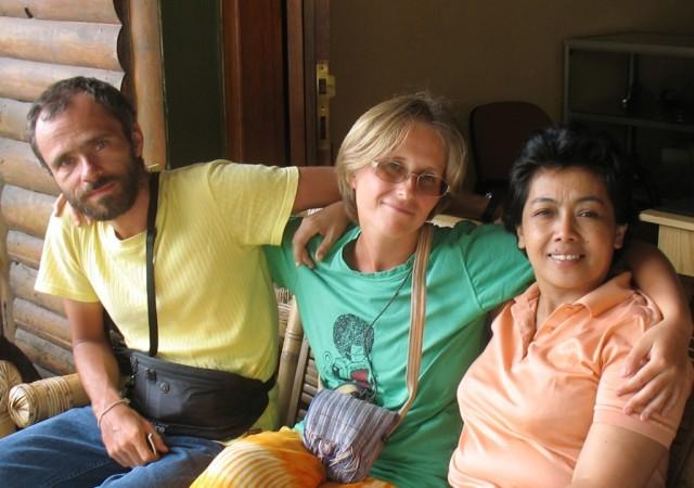 С тетей Анитой в Turret Cafe