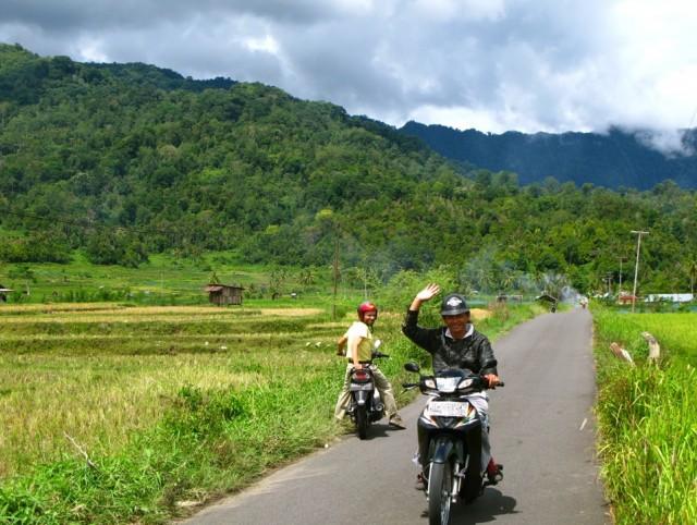 По дороге вокруг Манинджау